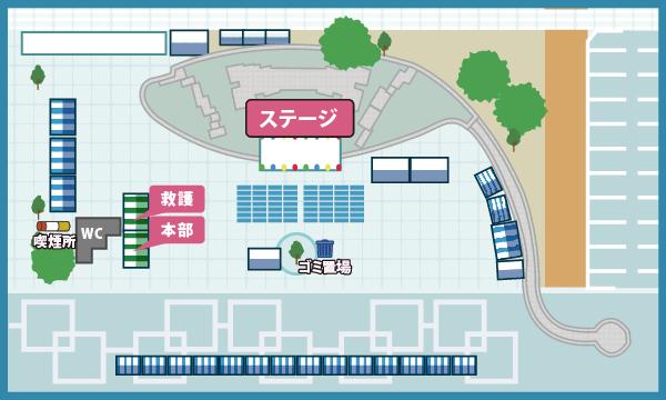 駅前会場マップ