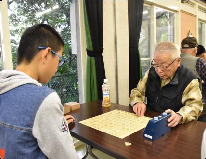 囲碁・将棋大会優勝者